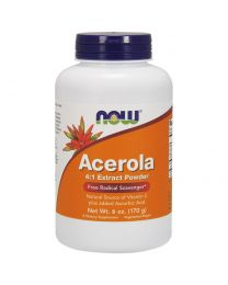 Now Foods, Acerola 4:1 Extract Powder, 6 oz (170 g)