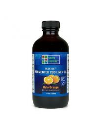 Green Pasture - BLUE ICE™ Fermented Cod Liver Oil - Oslo Orange 237ml