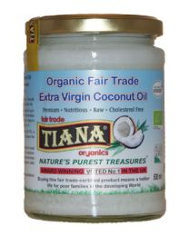 250ml Tiana Cold Pressed Virgin Coconut Oil