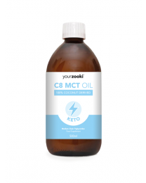 YourZooki - C8 MCT Oil, 99.8% C8 - 500ml