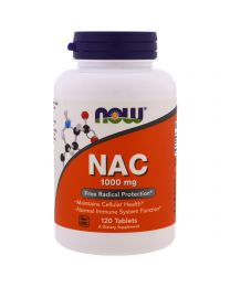 Now Foods, NAC, 1000 mg, 120 Veggie Caps