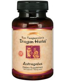 Dragon Herbs Astragalus 100 Capsules (500mg)