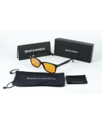 Swanwick Sleep Blue Light Blocking Glasses - Black regular