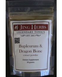Jing Herbs -  Bupleurum & Dragon Bone powder 50g