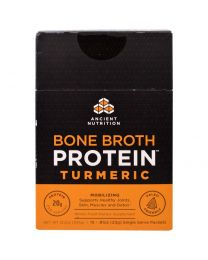Bone Broth Protein, Turmeric, 15 Single Serve Packets, .81 oz (23 g) Each