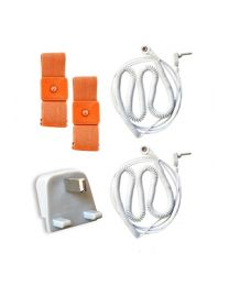 Earthing BODY BAND KIT (2 bands, 2 wires and UK connection)