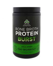 Bone Broth Protein Burst, Pre-Workout, Apple Greens, 12.9 oz (367 g)