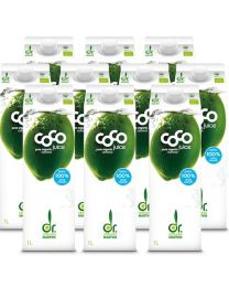 10 x Dr Antonio Martins Coconut Water 1000ml (10 pack)