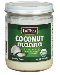 Nutiva Organic Coconut Manna 425g