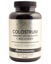 Surthrival Colostrum 180caps 500mg