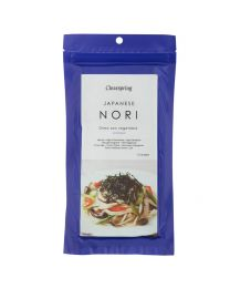 Clearspring 25g (10 Sheets) Untoasted Nori