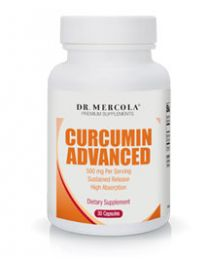 Dr Mercola Curcumin Advanced 500mg - 30 caps