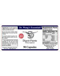Digest-Fuerte™ (Digestive Enzymes) 90 Caps (WAM Essentials)