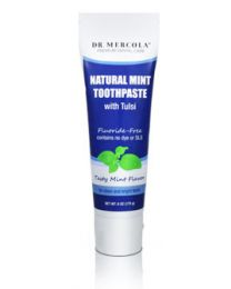 Dr Mercola Natural Toothpaste 6 oz Tube