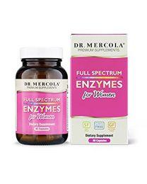 Dr Mercola Full Spectrum Enzymes for Women 90caps