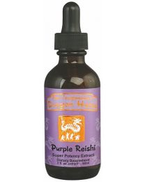 Dragon Herbs Purple Reishi Drops 2fl oz (60ml)
