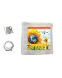 Earthing Throw (blanket) with UK connection