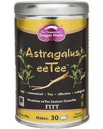 Dragon Herbs Astragalus eeTee in a jar