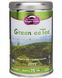 Dragon Herbs Green eeTee in a jar