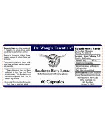 Hawthorne Berry Extract 60 Caps (WAM Essentials)