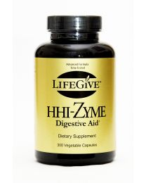 Best Before November 2018 - LifeGive HHI-zyme 300caps