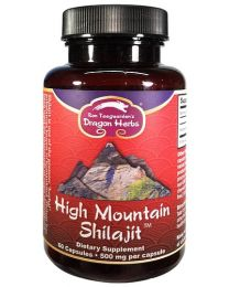 Dragon Herbs High Mountain Shilajit 60caps (450mg)
