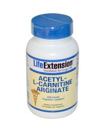 Life Extension, Acetyl-L-Carnitine Arginate, 100 Veggie Caps