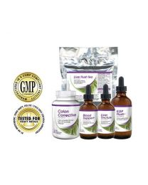 Baseline Nutritionals Kidney/Liver/ Gallbladder/Blood Detox Package (Phase 2 & 3 of full body detox)