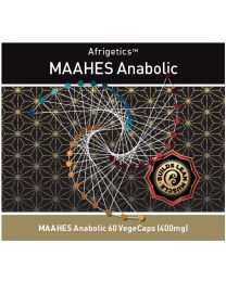 MAAHES Anabolic 400mg (60caps) (with bulbine)