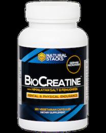 BioCreatine™ Optimal Creatine Complex - 120 ct. (Natural Stacks)