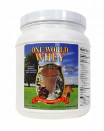 2018 Formula - One World Whey (1lb) - Chocolate