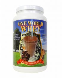 2018 formula - One World Whey (3lbs) - Chocolate