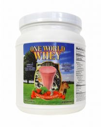 2018 Formula - One World Whey (1lb) - Strawberry