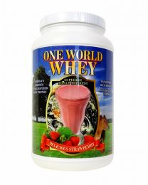 2018 Formula - One World Whey (3lbs) - Strawberry
