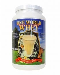 2018 Formula - One World Whey (3lbs) - Vanilla