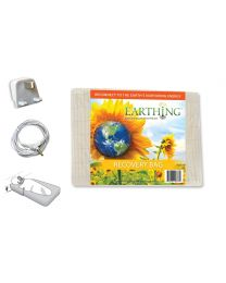 Earthing Recovery Bag Sleep System with UK connection (100% cotton)