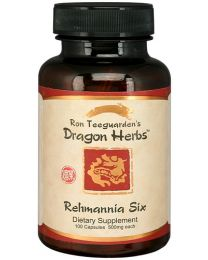 Dragon Herbs Rehmannia Six Combination (100caps 500mg)