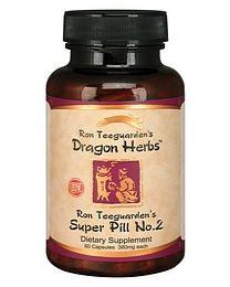Dragon Herbs Ron Teeguarden's Super Pill No. 2 60caps (420mg)