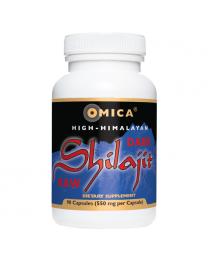Omica Organics High-Himalayan Dark Shilajit™ Capsules (90 ct)