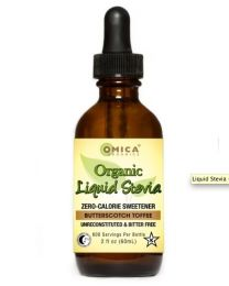 Omica Organics Stevia Botanica - Liquid Stevia (Butterscotch) 2fl oz 60ml
