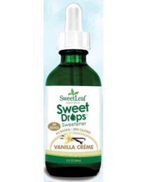 SweetLeaf Liquid Stevia Sweet Drops - Vanilla Creme