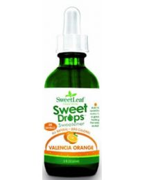 SweetLeaf Liquid Stevia Sweet Drops - Valencia Orange