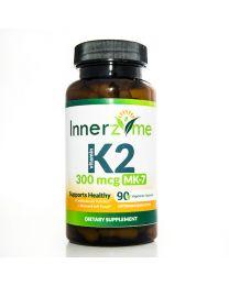 Innerzyme Vitamin K2 MK-7 (350mg - 90caps)