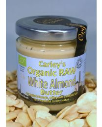Carley's Organic Raw White Almond Nut Butter 170g